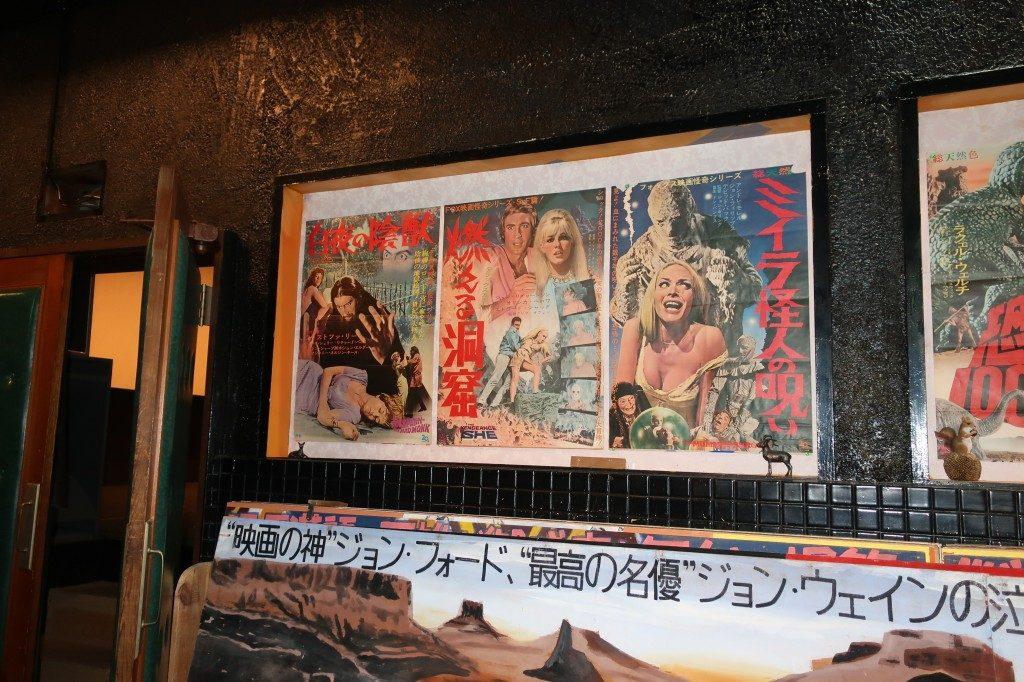 古い映画のポスター